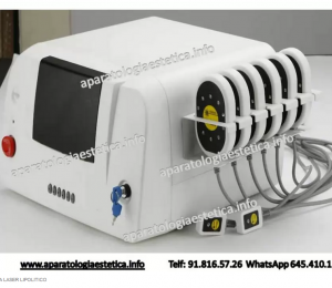 lipobox láser lipolitico 6+2