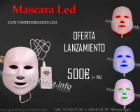 máscara led