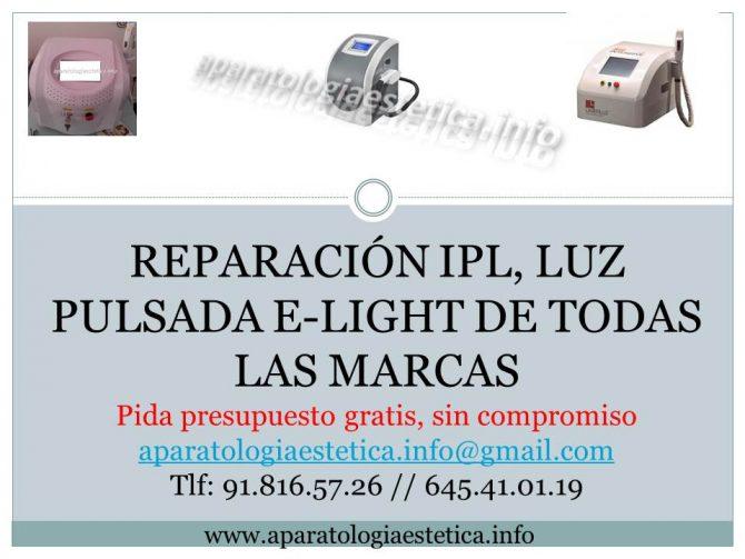 Reparación sistemas de refrigeración IPL