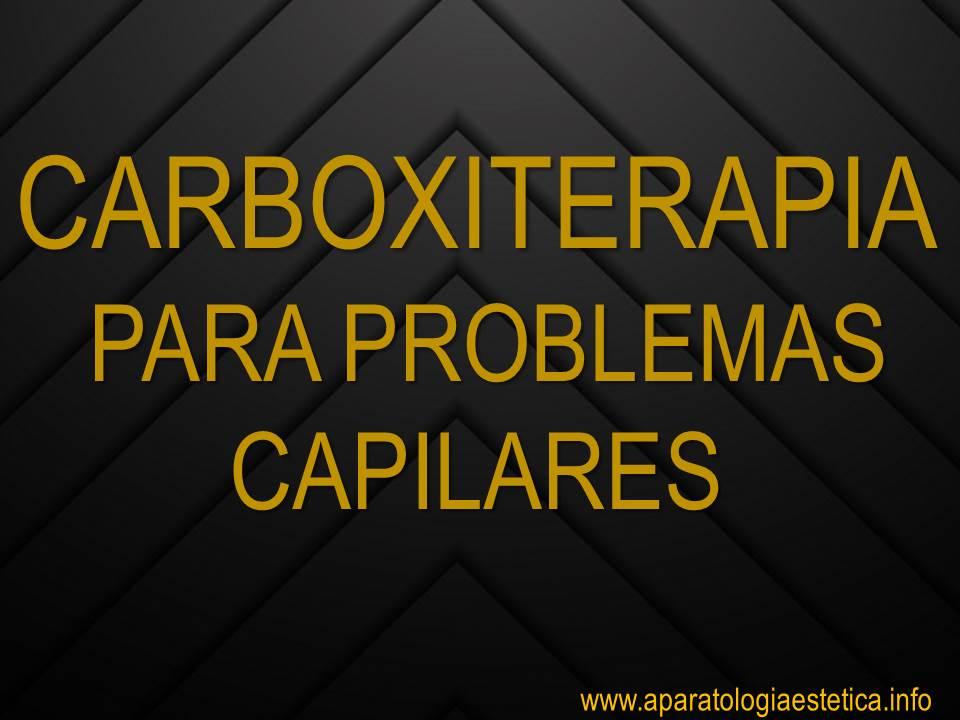 Carboxiterapia capilar