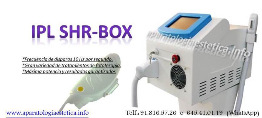 EQUIPO FOTODEPILACIÓN IPL SHR BOX