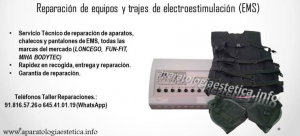 reparación equipos eléctroestimulación