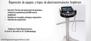 reparación equipos EMS Amplitrain