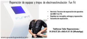 reparación equipos EMS Fun-Fit