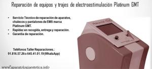 reparación equipos EMS Platinum GMT