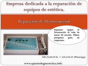 reparación dermosucción